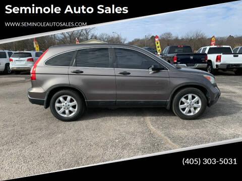 2009 Honda CR-V for sale at Seminole Auto Sales in Seminole OK