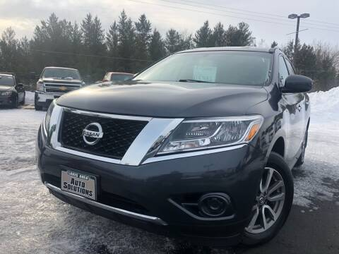 2014 Nissan Pathfinder for sale at Lakes Area Auto Solutions in Baxter MN