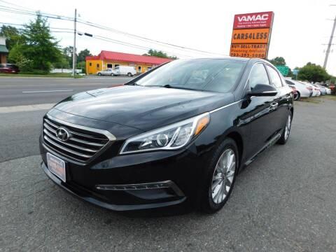 2015 Hyundai Sonata for sale at Cars 4 Less in Manassas VA