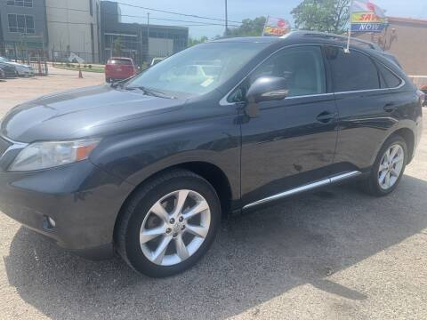 2010 Lexus RX 350 for sale at FAIR DEAL AUTO SALES INC in Houston TX