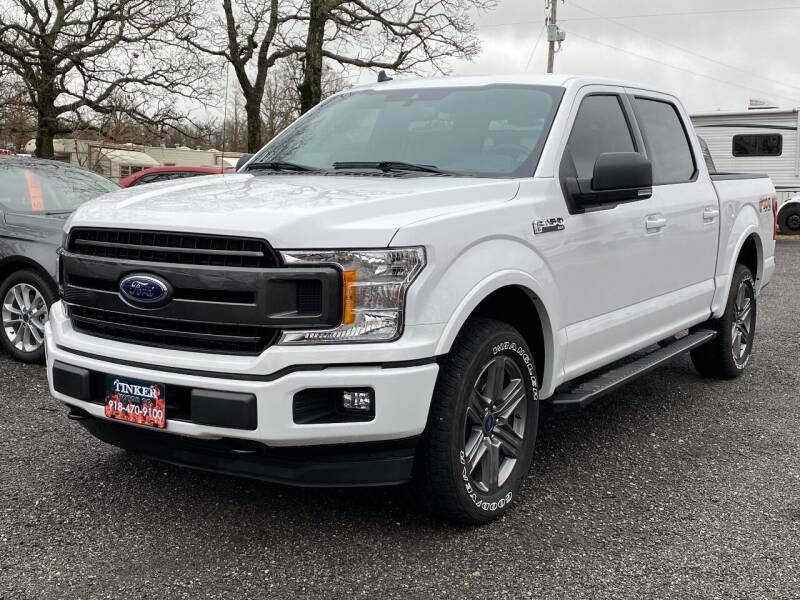 2020 Ford F-150 for sale at TINKER MOTOR COMPANY in Indianola OK