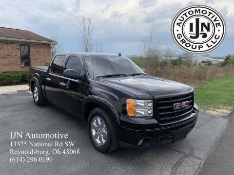 2012 GMC Sierra 1500 for sale at IJN Automotive Group LLC in Reynoldsburg OH