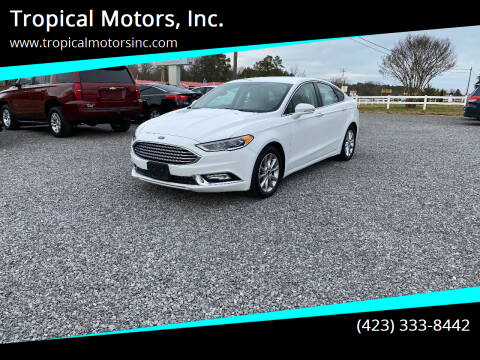 2017 Ford Fusion for sale at Tropical Motors, Inc. in Riceville TN