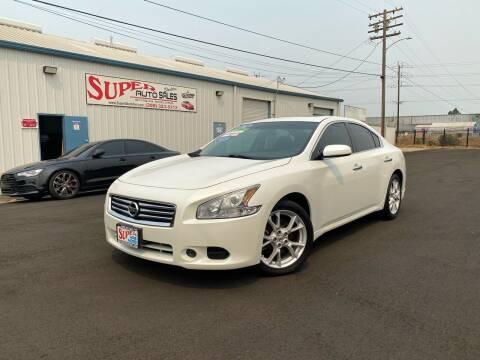 2014 Nissan Maxima for sale at SUPER AUTO SALES STOCKTON in Stockton CA
