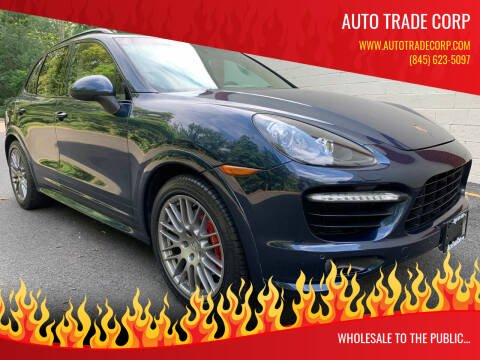 2013 Porsche Cayenne for sale at AUTO TRADE CORP in Nanuet NY