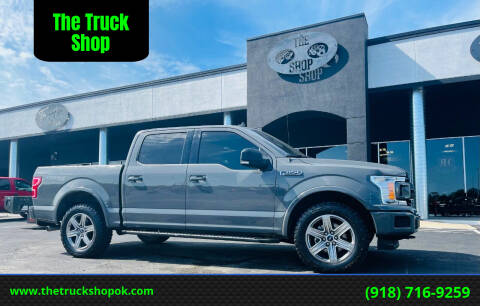 2018 Ford F-150 for sale at The Truck Shop in Okemah OK