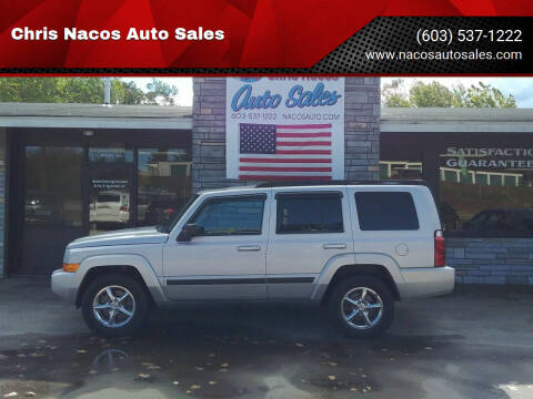 2007 Jeep Commander for sale at Chris Nacos Auto Sales in Derry NH