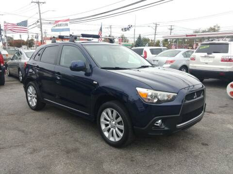 2011 Mitsubishi Outlander Sport for sale at Viking Auto Group in Bethpage NY