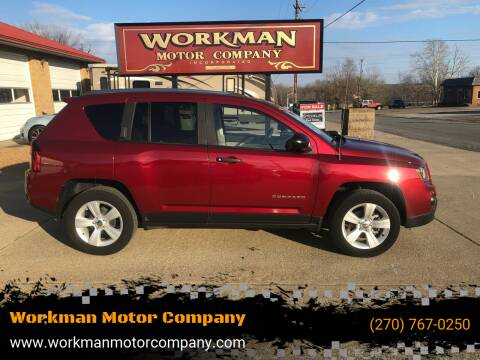 2014 Jeep Compass for sale at Workman Motor Company in Murray KY