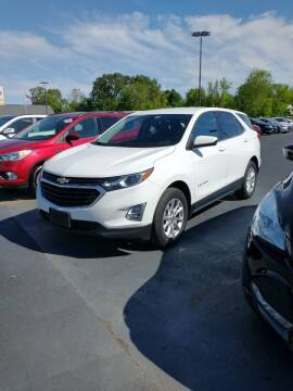 2018 Chevrolet Equinox for sale at McCully's Automotive in Benton KY
