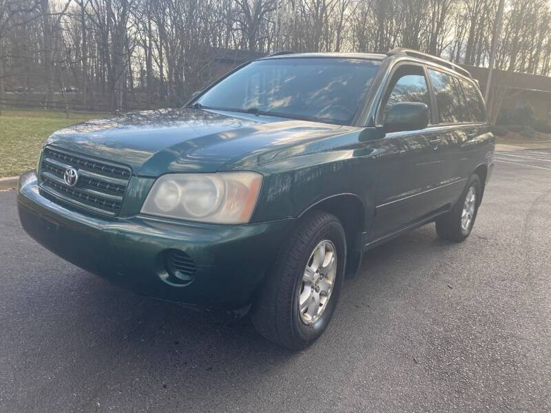2002 Toyota Highlander for sale at Bowie Motor Co in Bowie MD