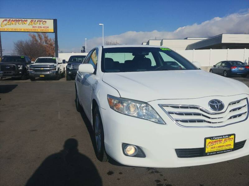 2011 Toyota Camry for sale at Canyon Auto Sales in Orem UT