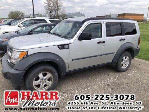 2007 Dodge Nitro for sale at Harr's Redfield Ford in Redfield SD