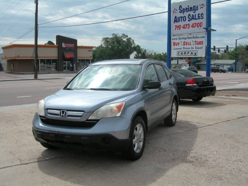 2008 Honda CR-V for sale at Springs Auto Sales in Colorado Springs CO