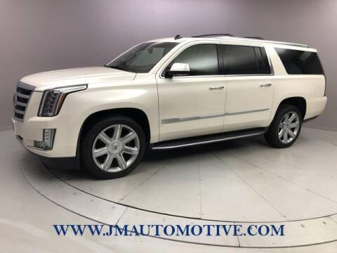 2015 Cadillac Escalade ESV for sale at J & M Automotive in Naugatuck CT