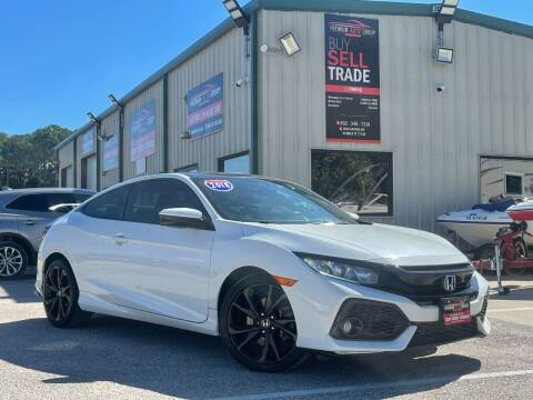 2018 Honda Civic for sale at Premium Auto Group in Humble TX