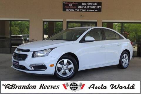 2016 Chevrolet Cruze Limited for sale at Brandon Reeves Auto World in Monroe NC