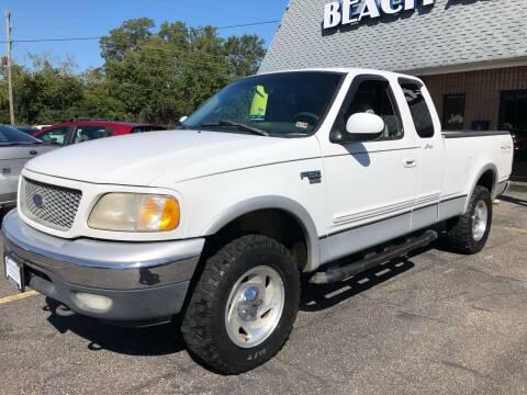 2000 Ford F-150 for sale at Beach Auto Sales in Virginia Beach VA