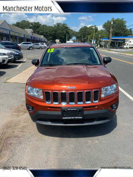 2012 Jeep Compass for sale at Manchester Motors in Manchester CT