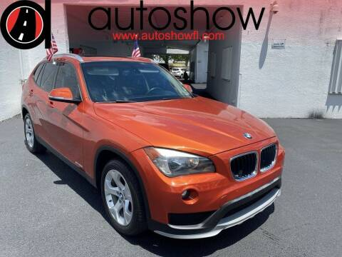 2015 BMW X1 for sale at AUTOSHOW SALES & SERVICE in Plantation FL