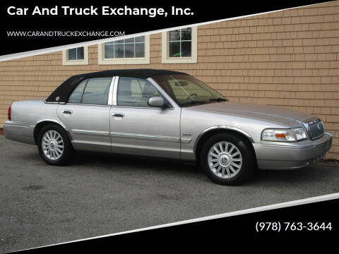 2010 Mercury Grand Marquis for sale at Car and Truck Exchange, Inc. in Rowley MA