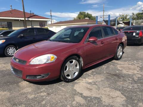 2009 Chevrolet Impala for sale at Robert B Gibson Auto Sales INC in Albuquerque NM