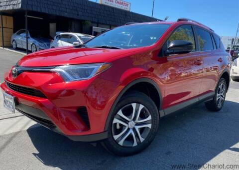 2017 Toyota RAV4 for sale at Steel Chariot in San Jose CA