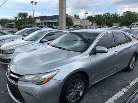 2015 Toyota Camry for sale at Castle Used Cars in Jacksonville FL