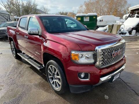 2018 GMC Canyon for sale at BERKENKOTTER MOTORS in Brighton CO
