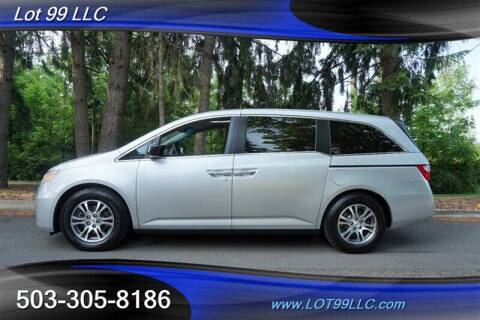 2012 Honda Odyssey for sale at LOT 99 LLC in Milwaukie OR