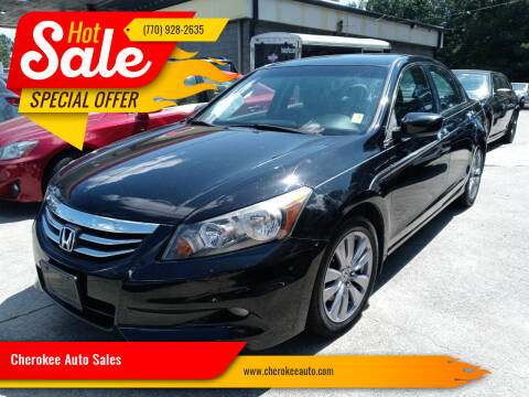 2011 Honda Accord for sale at Cherokee Auto Sales in Acworth GA