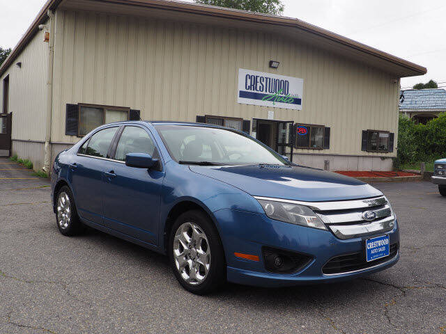 2010 Ford Fusion for sale at Crestwood Auto Sales in Swansea MA