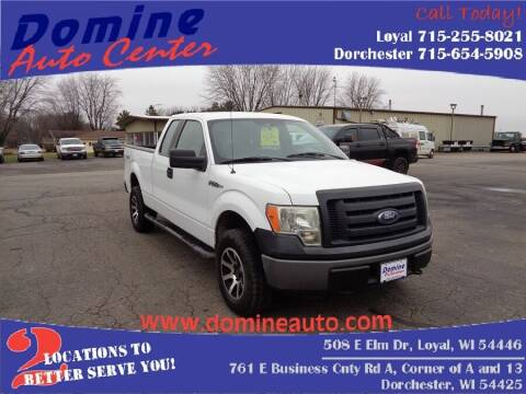 2011 Ford F-150 for sale at Domine Auto Center - commercial vehicles in Loyal WI