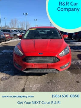 2016 Ford Focus for sale at R&R Car Company in Mount Clemens MI