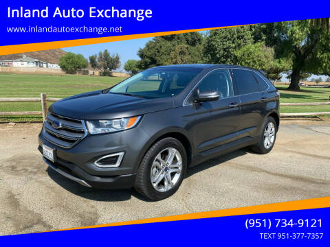 2017 Ford Edge for sale at Inland Auto Exchange in Norco CA