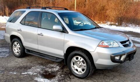 2001 Acura MDX for sale at Angelo's Auto Sales in Lowellville OH