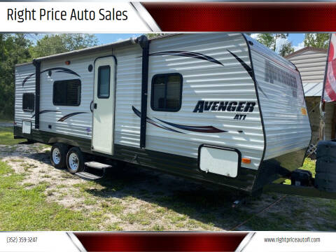 2015 Forest River Avenger for sale at Right Price Auto Sales - Waldo Rvs in Waldo FL