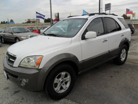 2005 Kia Sorento for sale at Talisman Motor City in Houston TX