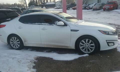 2015 Kia Optima for sale at Ron Lowman Motors Minot in Minot ND
