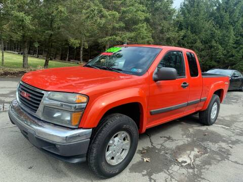 2008 GMC Canyon for sale at SMS Motorsports LLC in Cortland NY