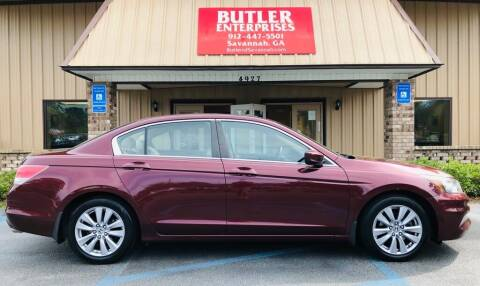 2012 Honda Accord for sale at Butler Enterprises in Savannah GA