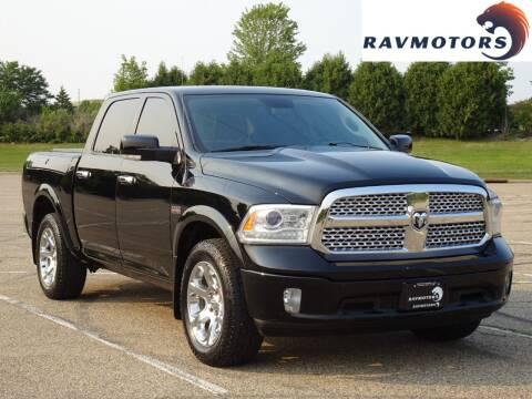 2013 RAM Ram Pickup 1500 for sale at RAVMOTORS in Burnsville MN
