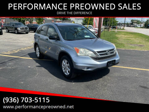 2011 Honda CR-V for sale at PERFORMANCE PREOWNED SALES in Conroe TX