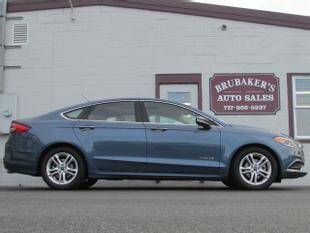 2018 Ford Fusion Hybrid for sale at Brubakers Auto Sales in Myerstown PA