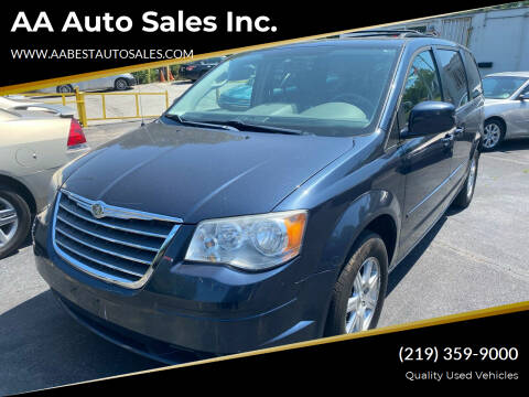 2008 Chrysler Town and Country for sale at AA Auto Sales Inc. in Gary IN