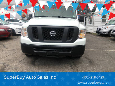 2015 Nissan NV Cargo for sale at SuperBuy Auto Sales Inc in Avenel NJ