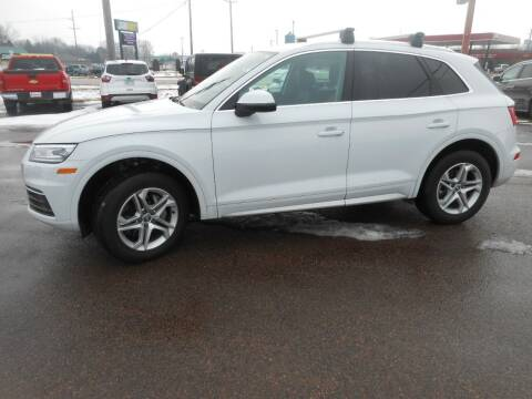 2019 Audi Q5 for sale at Salmon Automotive Inc. in Tracy MN