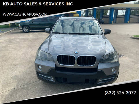 2008 BMW X5 for sale at KB AUTO SALES & SERVICES INC in Houston TX