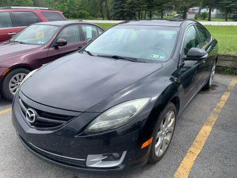 2011 Mazda MAZDA6 for sale at BURNWORTH AUTO INC in Windber PA