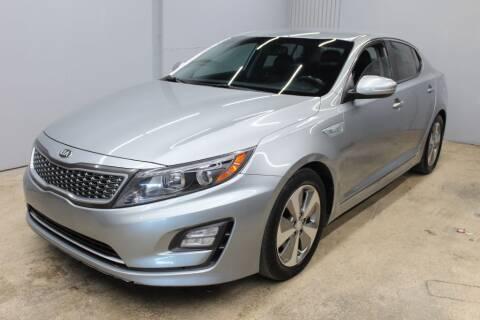 2014 Kia Optima Hybrid for sale at Flash Auto Sales in Garland TX